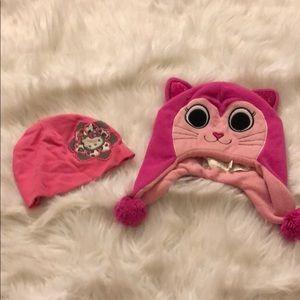 2 cute hats